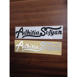 STICKER ADHITIA SOFYAN