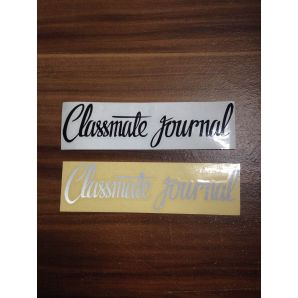 STICKER CLASSMATE JOURNAL